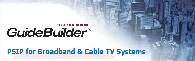 PSIP for Broadcast and Cable TV Systems webinar