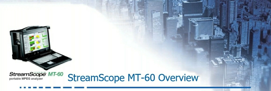 StreamScope MT-60 and Portal II webinar
